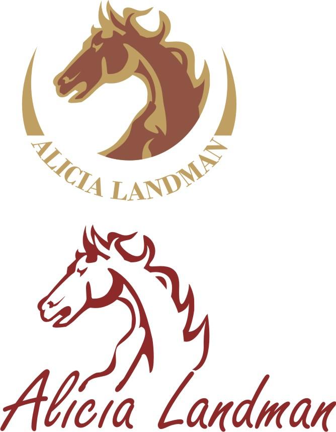 Logo Design by Korsunov Oleg - Entry No. 47 in the Logo Design Contest Fun Logo Design for Alicia Landman.