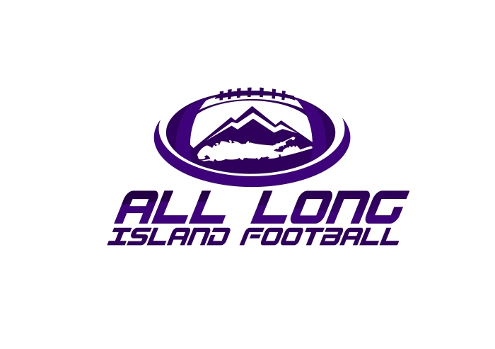 Logo Design by Private User - Entry No. 14 in the Logo Design Contest Unique Logo Design Wanted for ALL LONG ISLAND FOOTBALL.