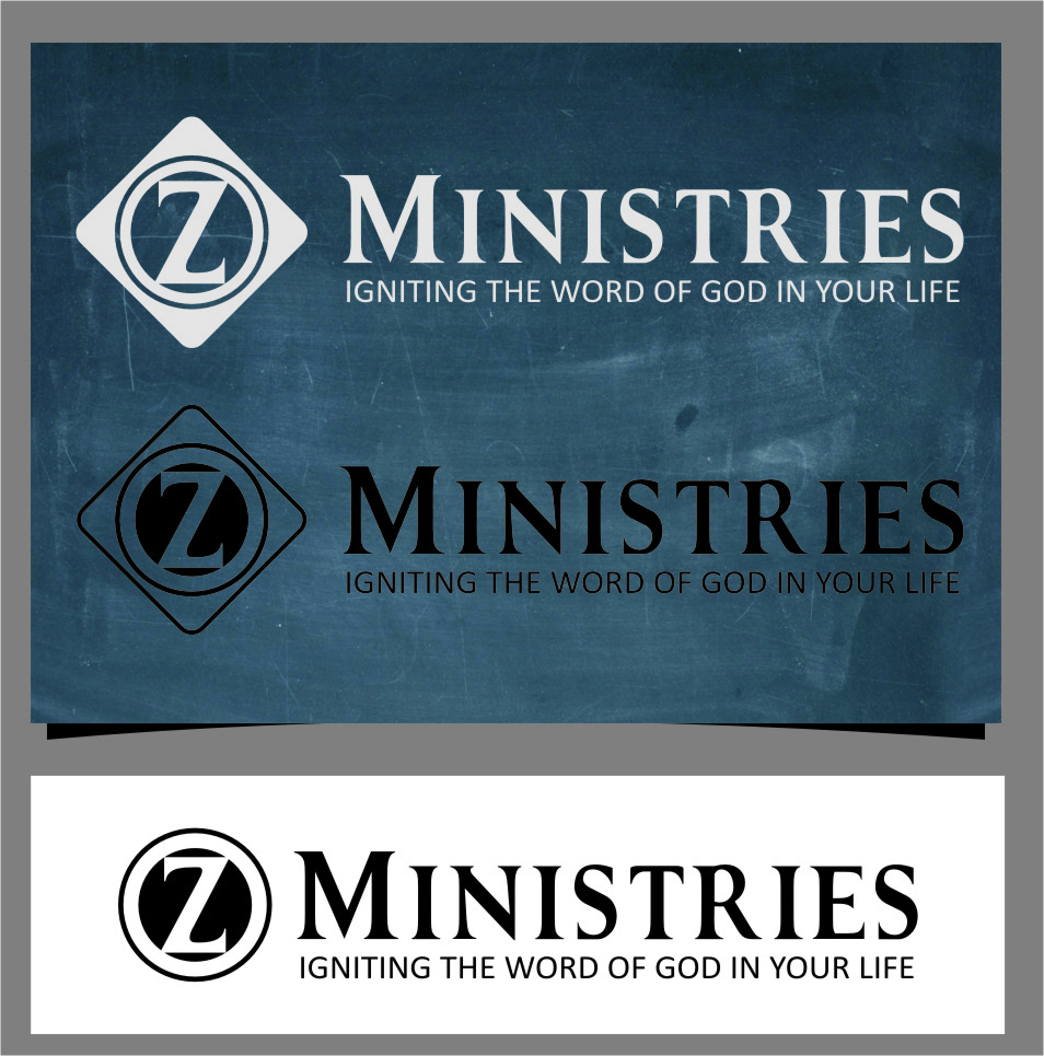 Logo Design by RoSyid Rono-Rene On Java - Entry No. 98 in the Logo Design Contest Artistic Logo Design for Z Ministries.