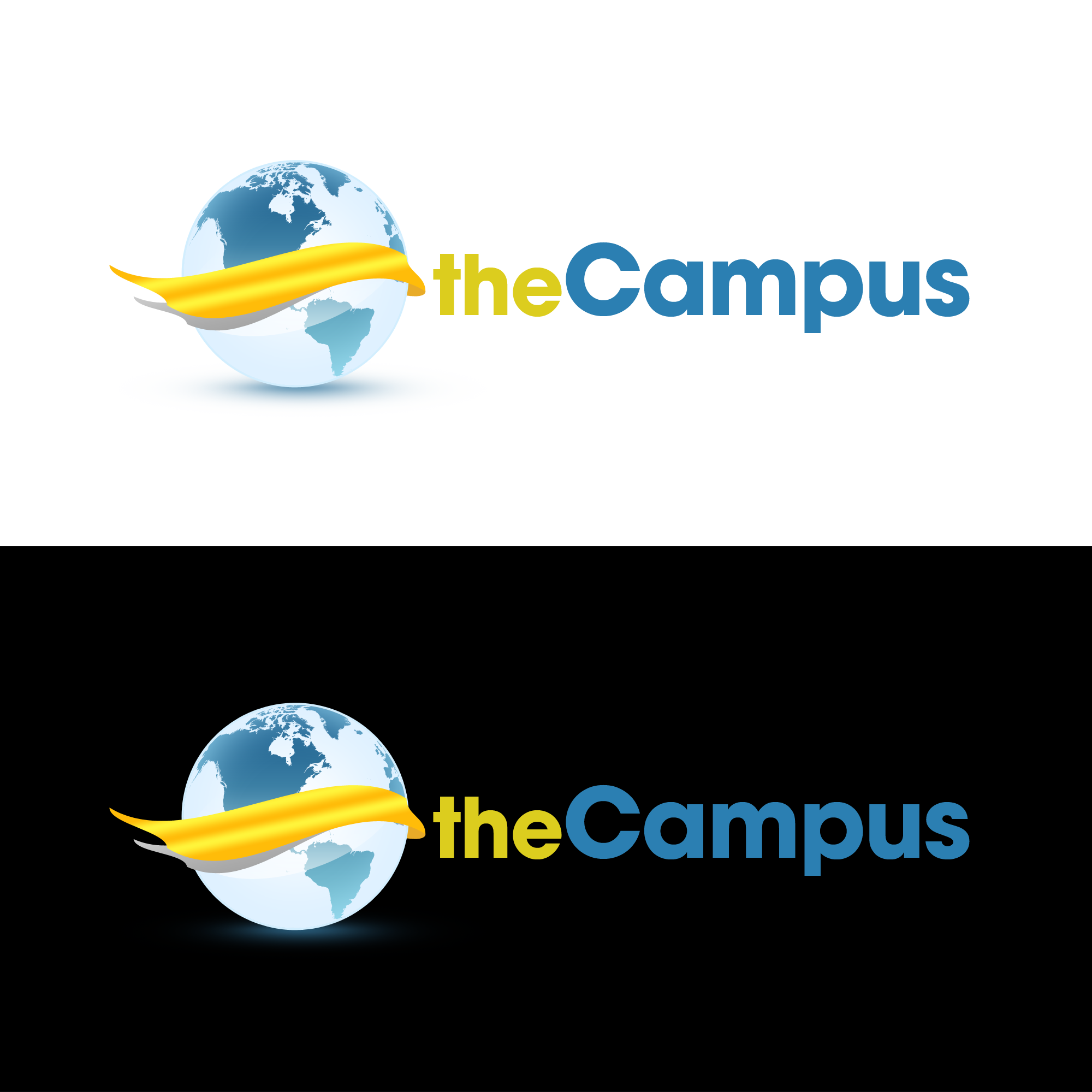 Logo Design by Kenneth Joel - Entry No. 11 in the Logo Design Contest theCampus Logo Design.