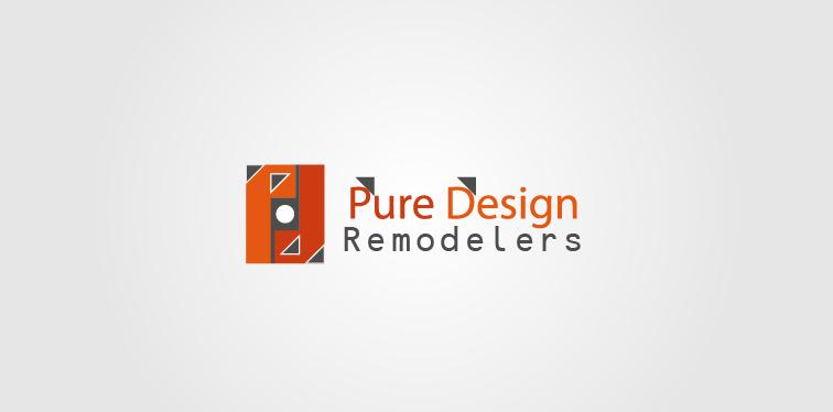Logo Design by Private User - Entry No. 70 in the Logo Design Contest Custom Logo Design for Pure Design Remodelers.