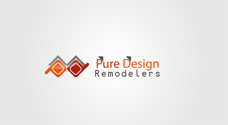 Logo Design by Private User - Entry No. 71 in the Logo Design Contest Custom Logo Design for Pure Design Remodelers.