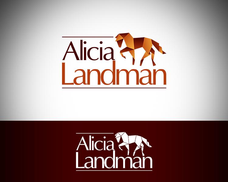 Logo Design by Dije Eki - Entry No. 48 in the Logo Design Contest Fun Logo Design for Alicia Landman.