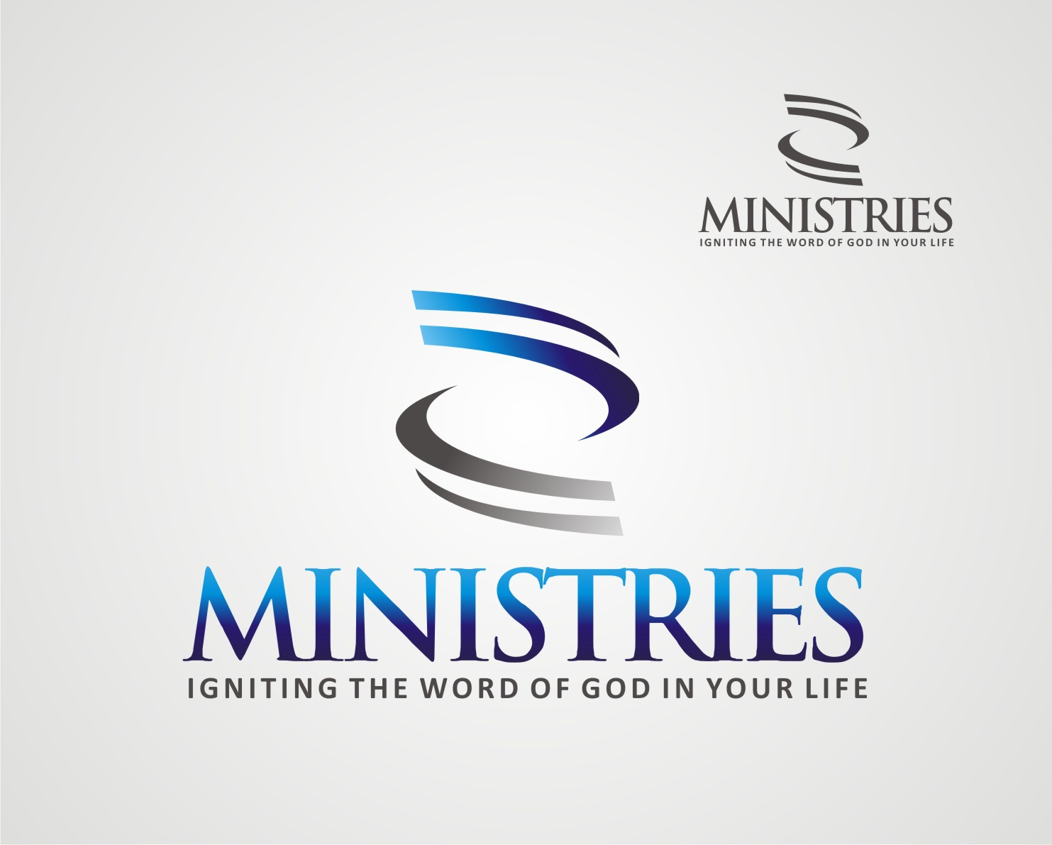 Logo Design by Reivan Ferdinan - Entry No. 106 in the Logo Design Contest Artistic Logo Design for Z Ministries.