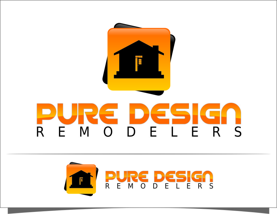 Logo Design by Ngepet_art - Entry No. 76 in the Logo Design Contest Custom Logo Design for Pure Design Remodelers.