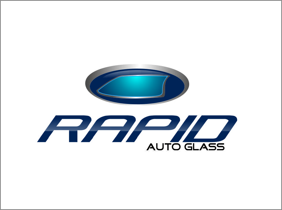 Logo Design by Agus Martoyo - Entry No. 68 in the Logo Design Contest Unique Logo Design Wanted for Rapid Auto Glass.