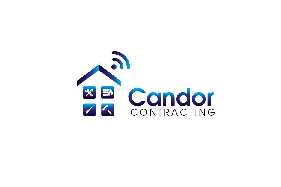 Logo Design by Private User - Entry No. 41 in the Logo Design Contest Unique Logo Design Wanted for Candor Contracting.