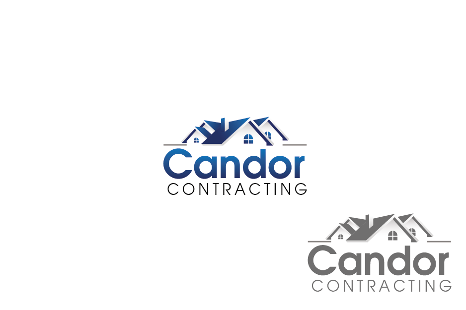 Logo Design by Private User - Entry No. 43 in the Logo Design Contest Unique Logo Design Wanted for Candor Contracting.