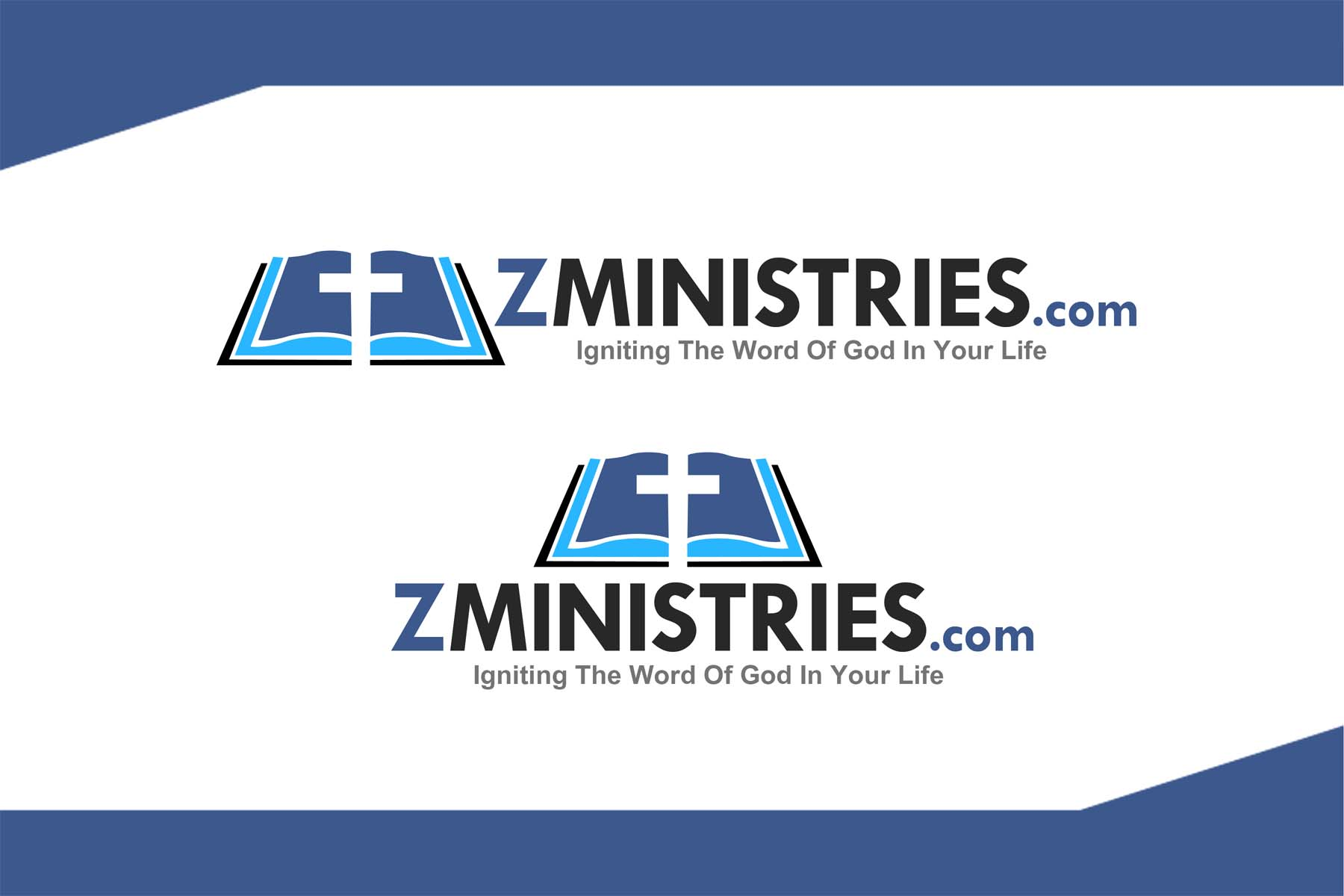 Logo Design by Private User - Entry No. 109 in the Logo Design Contest Artistic Logo Design for Z Ministries.
