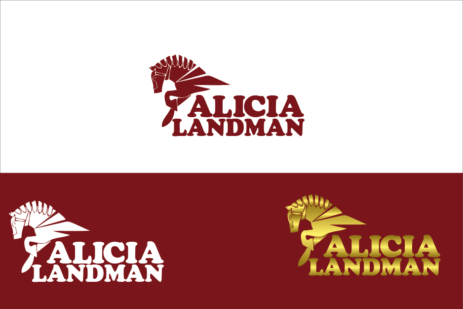 Logo Design by Private User - Entry No. 49 in the Logo Design Contest Fun Logo Design for Alicia Landman.
