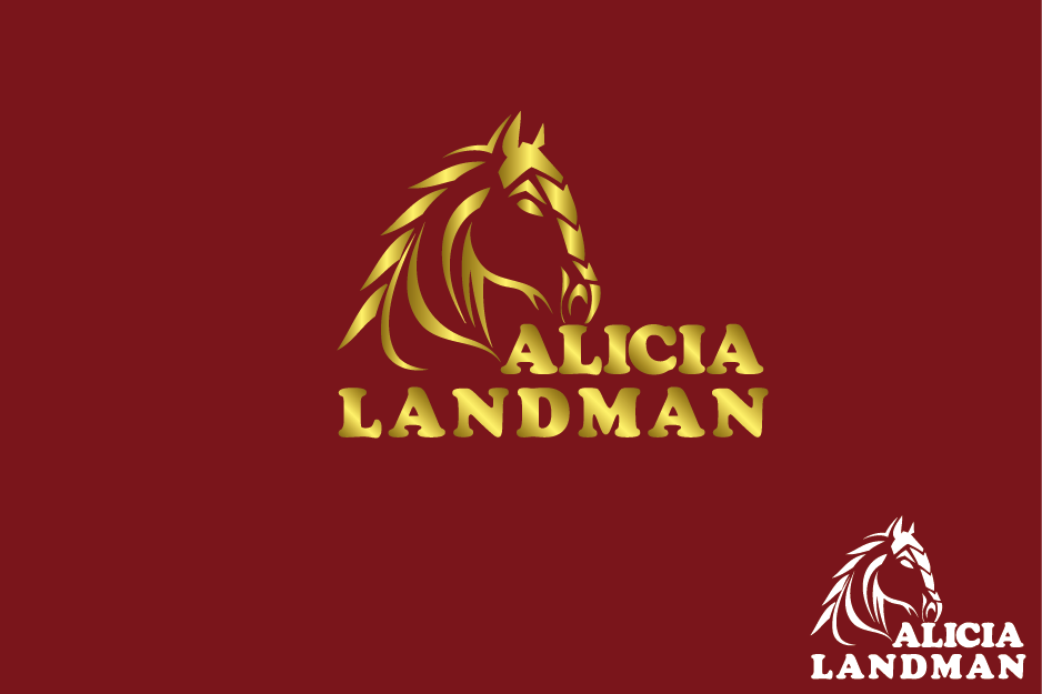 Logo Design by Private User - Entry No. 51 in the Logo Design Contest Fun Logo Design for Alicia Landman.