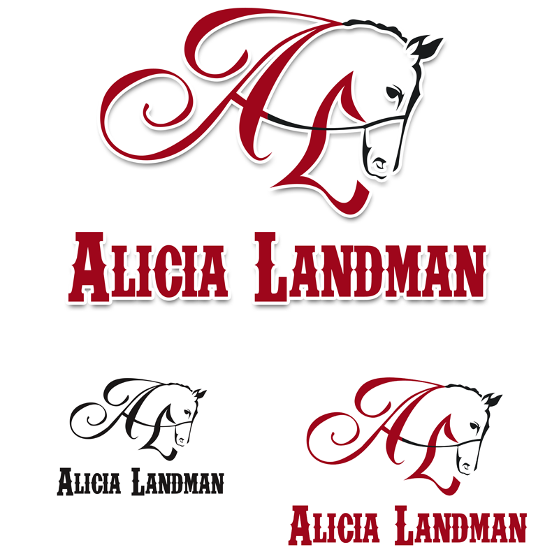 Logo Design by Private User - Entry No. 52 in the Logo Design Contest Fun Logo Design for Alicia Landman.