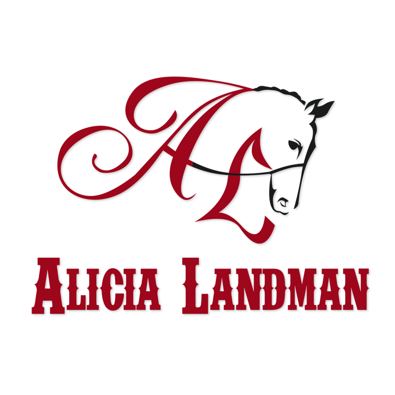 Logo Design by Private User - Entry No. 53 in the Logo Design Contest Fun Logo Design for Alicia Landman.