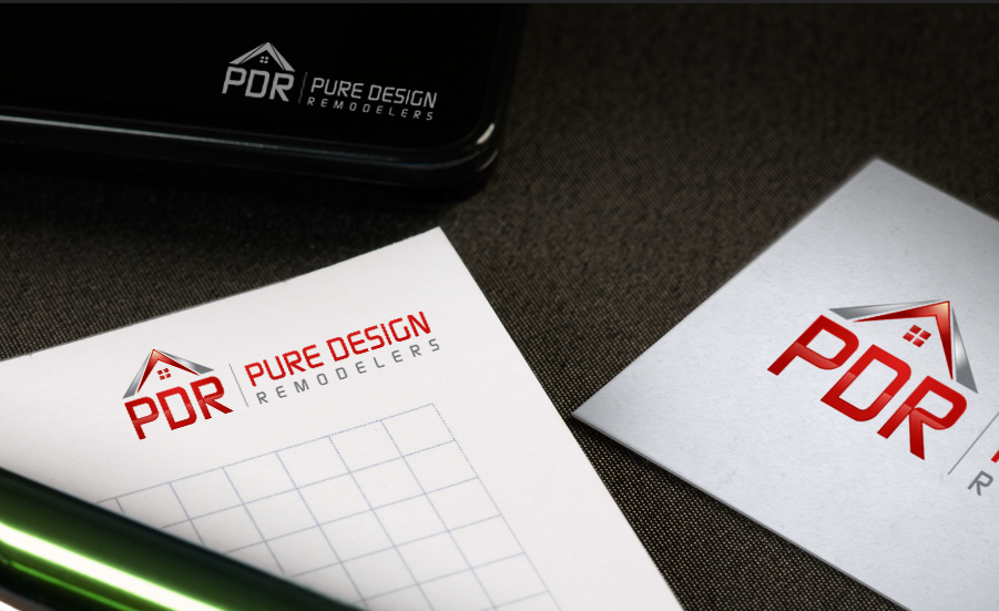 Logo Design by Creasian - Entry No. 84 in the Logo Design Contest Custom Logo Design for Pure Design Remodelers.