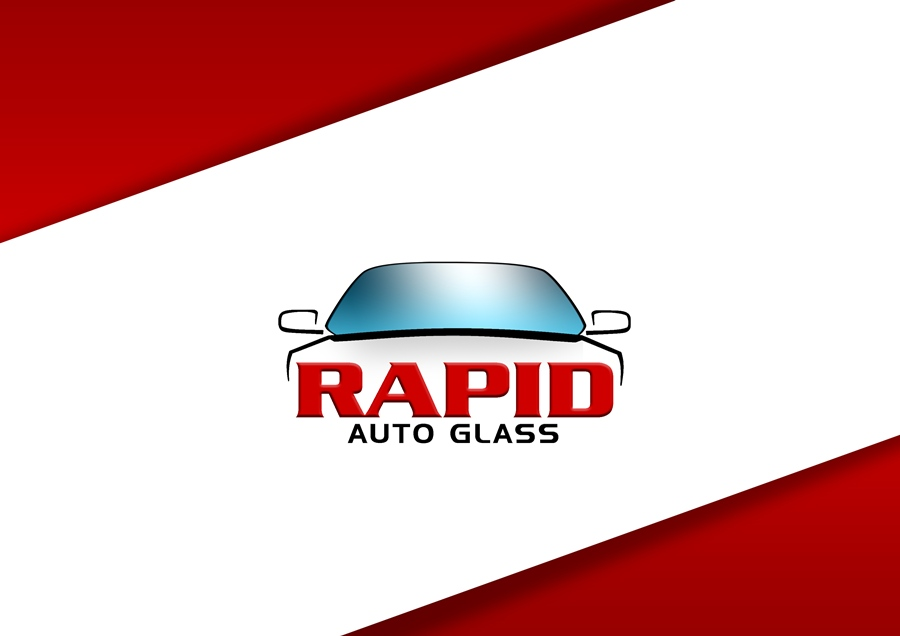 Logo Design by Respati Himawan - Entry No. 72 in the Logo Design Contest Unique Logo Design Wanted for Rapid Auto Glass.