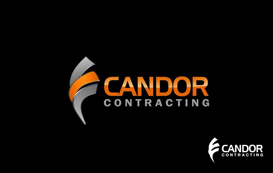 Logo Design by Respati Himawan - Entry No. 45 in the Logo Design Contest Unique Logo Design Wanted for Candor Contracting.