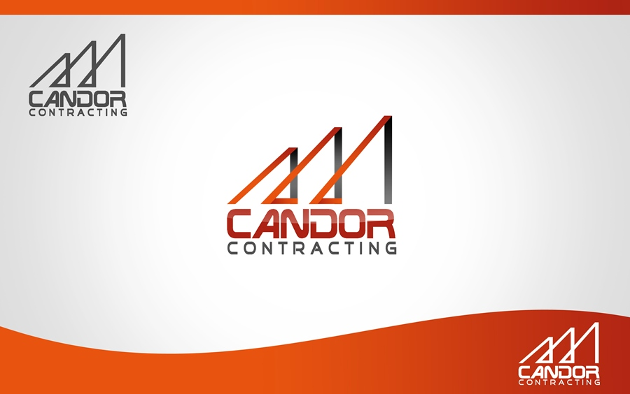 Logo Design by Respati Himawan - Entry No. 46 in the Logo Design Contest Unique Logo Design Wanted for Candor Contracting.