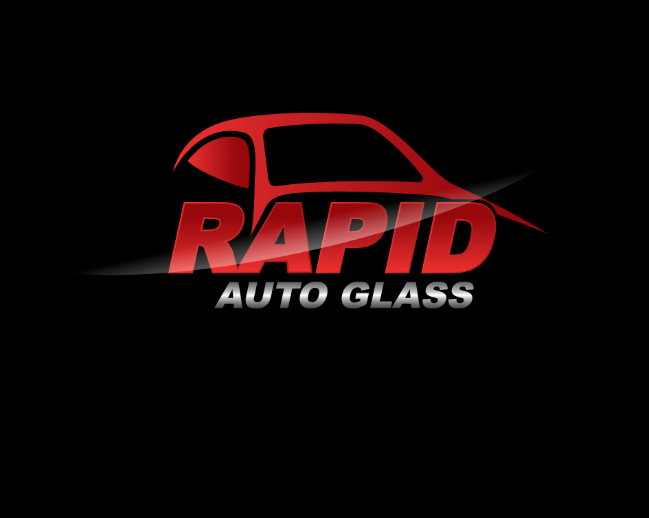 Logo Design by Yusuf Nurochim - Entry No. 74 in the Logo Design Contest Unique Logo Design Wanted for Rapid Auto Glass.