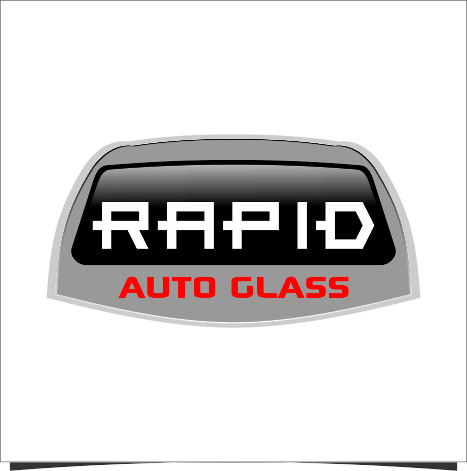 Logo Design by RoSyid Rono-Rene On Java - Entry No. 76 in the Logo Design Contest Unique Logo Design Wanted for Rapid Auto Glass.