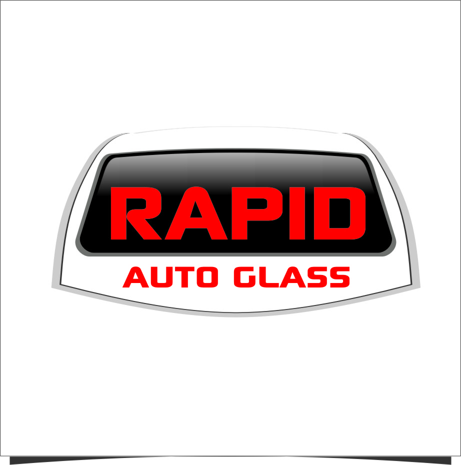 Logo Design by Ngepet_art - Entry No. 77 in the Logo Design Contest Unique Logo Design Wanted for Rapid Auto Glass.