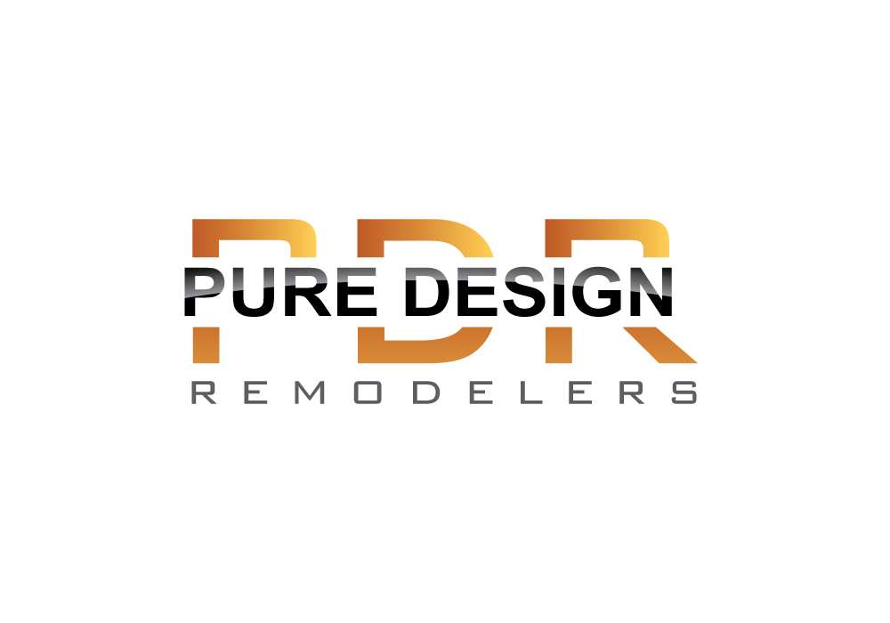 Logo Design by Pintura - Entry No. 87 in the Logo Design Contest Custom Logo Design for Pure Design Remodelers.
