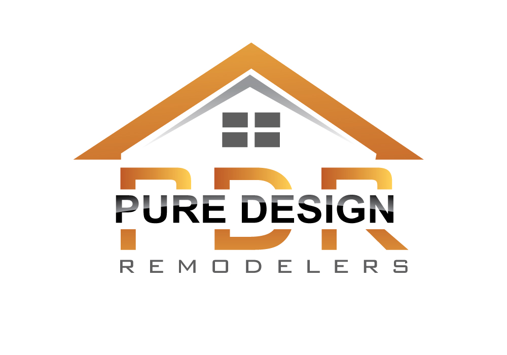 Logo Design by Pintura - Entry No. 88 in the Logo Design Contest Custom Logo Design for Pure Design Remodelers.