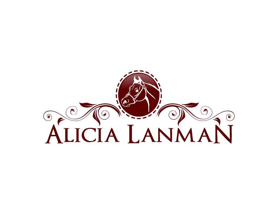 Logo Design by Yusuf Nurochim - Entry No. 59 in the Logo Design Contest Fun Logo Design for Alicia Landman.