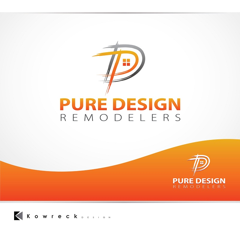 Logo Design by kowreck - Entry No. 90 in the Logo Design Contest Custom Logo Design for Pure Design Remodelers.