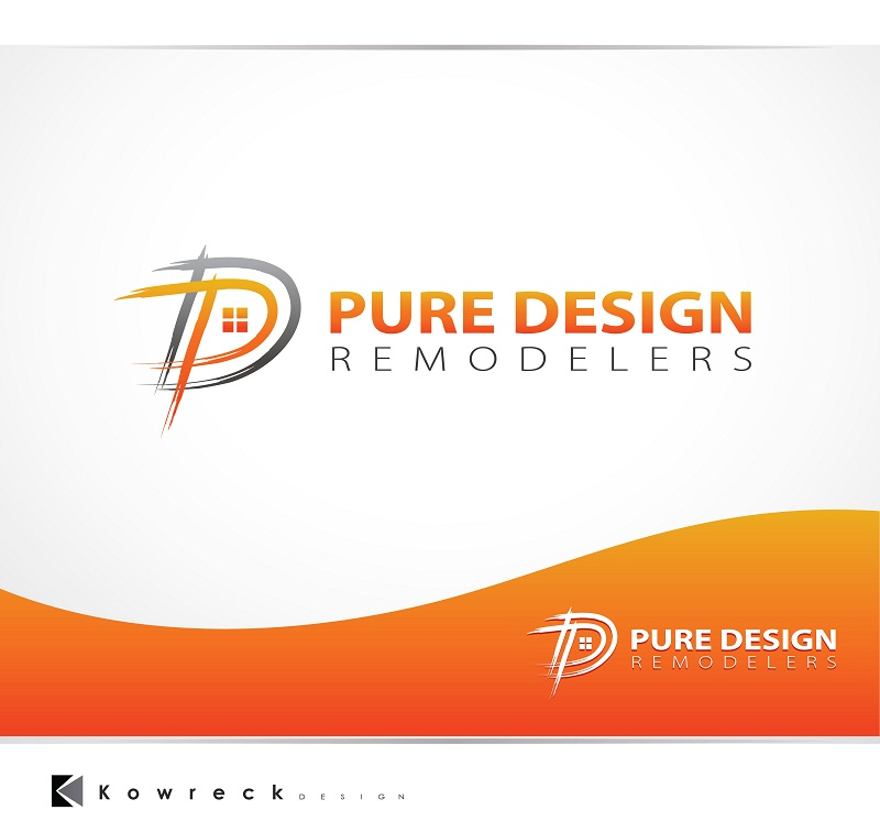 Logo Design by kowreck - Entry No. 92 in the Logo Design Contest Custom Logo Design for Pure Design Remodelers.