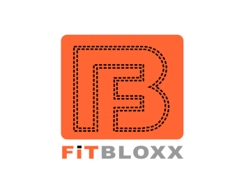 Logo Design by Rudy - Entry No. 68 in the Logo Design Contest FitBloxx (creating block fits for the apparel industry).