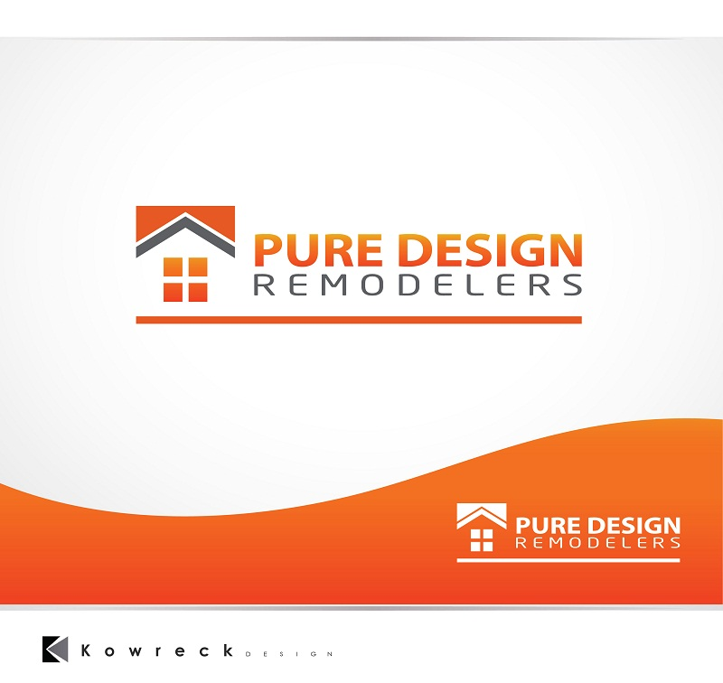 Logo Design by kowreck - Entry No. 93 in the Logo Design Contest Custom Logo Design for Pure Design Remodelers.