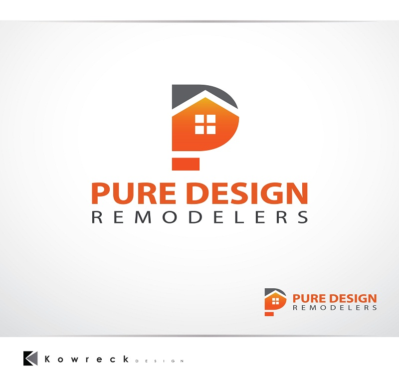 Logo Design by kowreck - Entry No. 94 in the Logo Design Contest Custom Logo Design for Pure Design Remodelers.