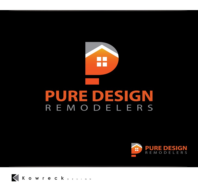 Logo Design by kowreck - Entry No. 95 in the Logo Design Contest Custom Logo Design for Pure Design Remodelers.