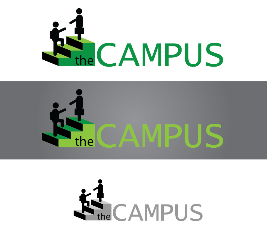 Logo Design by Christina Evans - Entry No. 19 in the Logo Design Contest theCampus Logo Design.