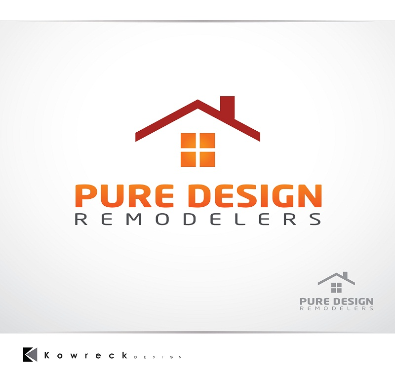 Logo Design by kowreck - Entry No. 100 in the Logo Design Contest Custom Logo Design for Pure Design Remodelers.