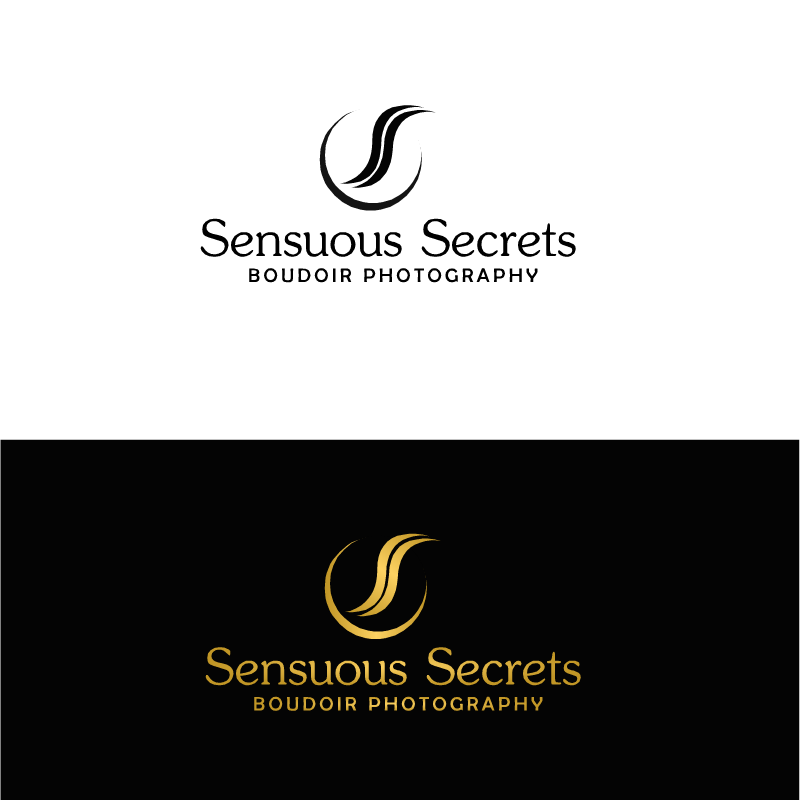 Logo Design by RAJU CHATTERJEE - Entry No. 25 in the Logo Design Contest Artistic Logo Design for Sensuous Secrets Boudoir Photography.