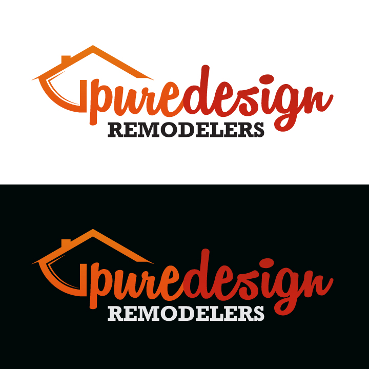 Logo Design by Top Elite - Entry No. 104 in the Logo Design Contest Custom Logo Design for Pure Design Remodelers.