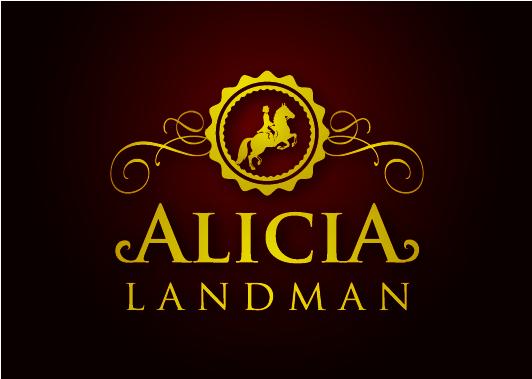 Logo Design by Creasian - Entry No. 65 in the Logo Design Contest Fun Logo Design for Alicia Landman.