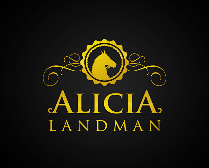 Logo Design by Creasian - Entry No. 67 in the Logo Design Contest Fun Logo Design for Alicia Landman.