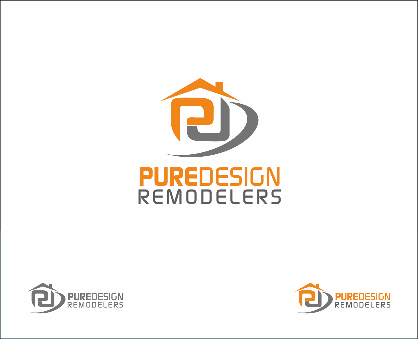 Logo Design by Armada Jamaluddin - Entry No. 105 in the Logo Design Contest Custom Logo Design for Pure Design Remodelers.