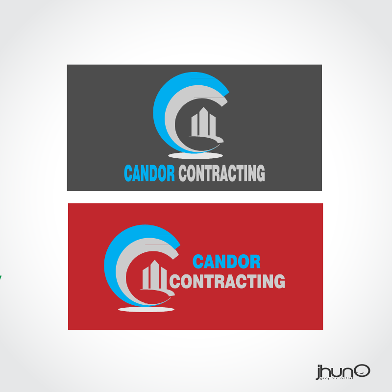 Logo Design by zesthar - Entry No. 48 in the Logo Design Contest Unique Logo Design Wanted for Candor Contracting.