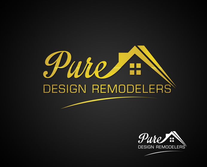 Logo Design by Creasian - Entry No. 108 in the Logo Design Contest Custom Logo Design for Pure Design Remodelers.