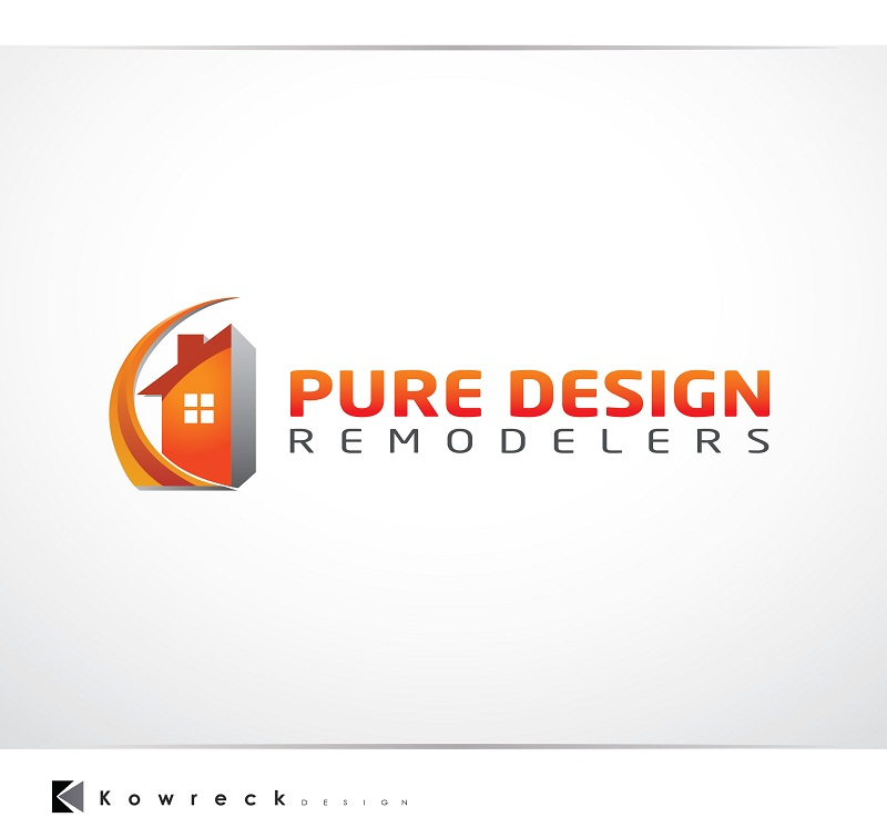 Logo Design by kowreck - Entry No. 109 in the Logo Design Contest Custom Logo Design for Pure Design Remodelers.