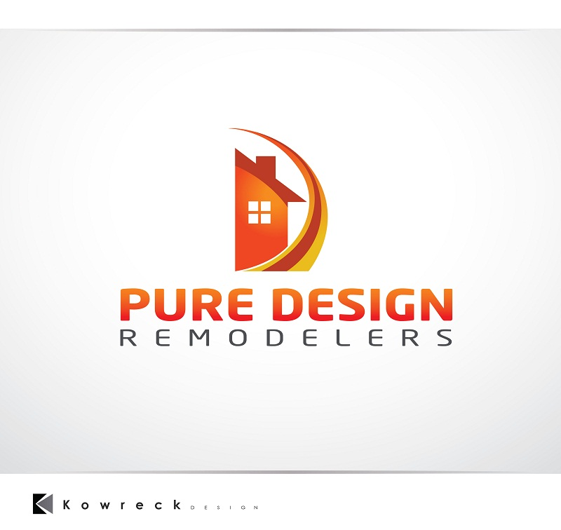 Logo Design by kowreck - Entry No. 110 in the Logo Design Contest Custom Logo Design for Pure Design Remodelers.