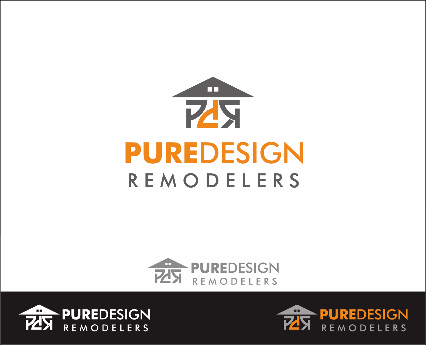 Logo Design by Armada Jamaluddin - Entry No. 112 in the Logo Design Contest Custom Logo Design for Pure Design Remodelers.