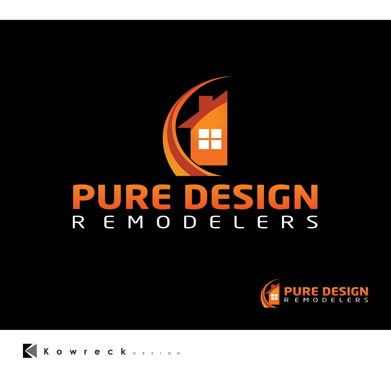 Logo Design by kowreck - Entry No. 113 in the Logo Design Contest Custom Logo Design for Pure Design Remodelers.
