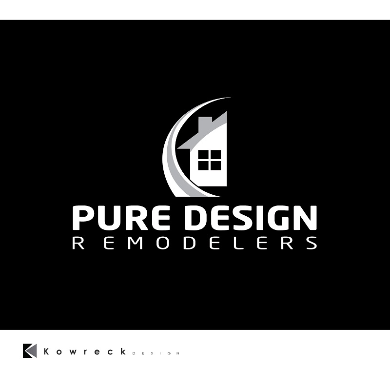 Logo Design by kowreck - Entry No. 114 in the Logo Design Contest Custom Logo Design for Pure Design Remodelers.