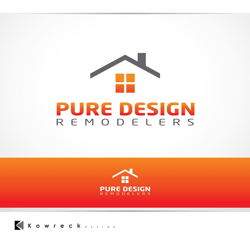 Logo Design by kowreck - Entry No. 115 in the Logo Design Contest Custom Logo Design for Pure Design Remodelers.