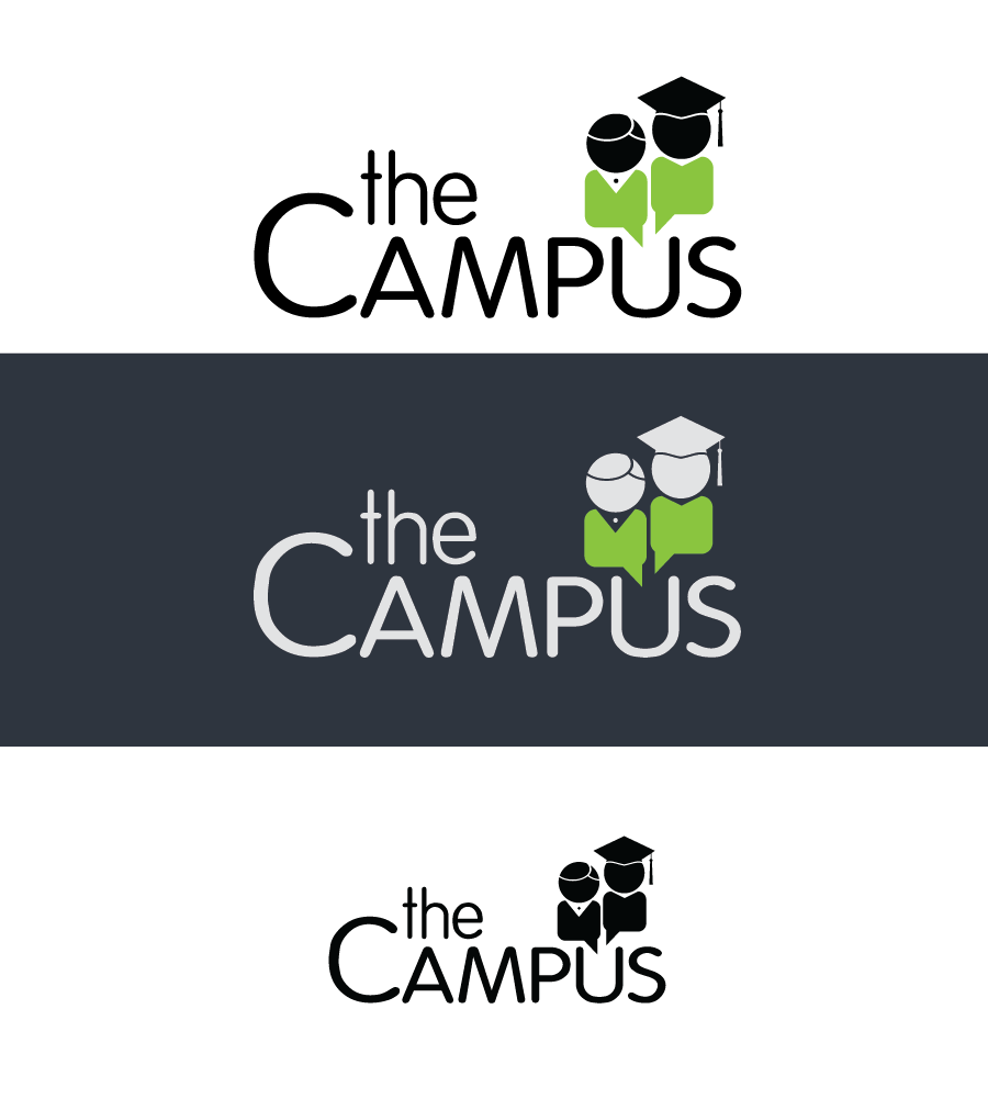 Logo Design by Christina Evans - Entry No. 21 in the Logo Design Contest theCampus Logo Design.