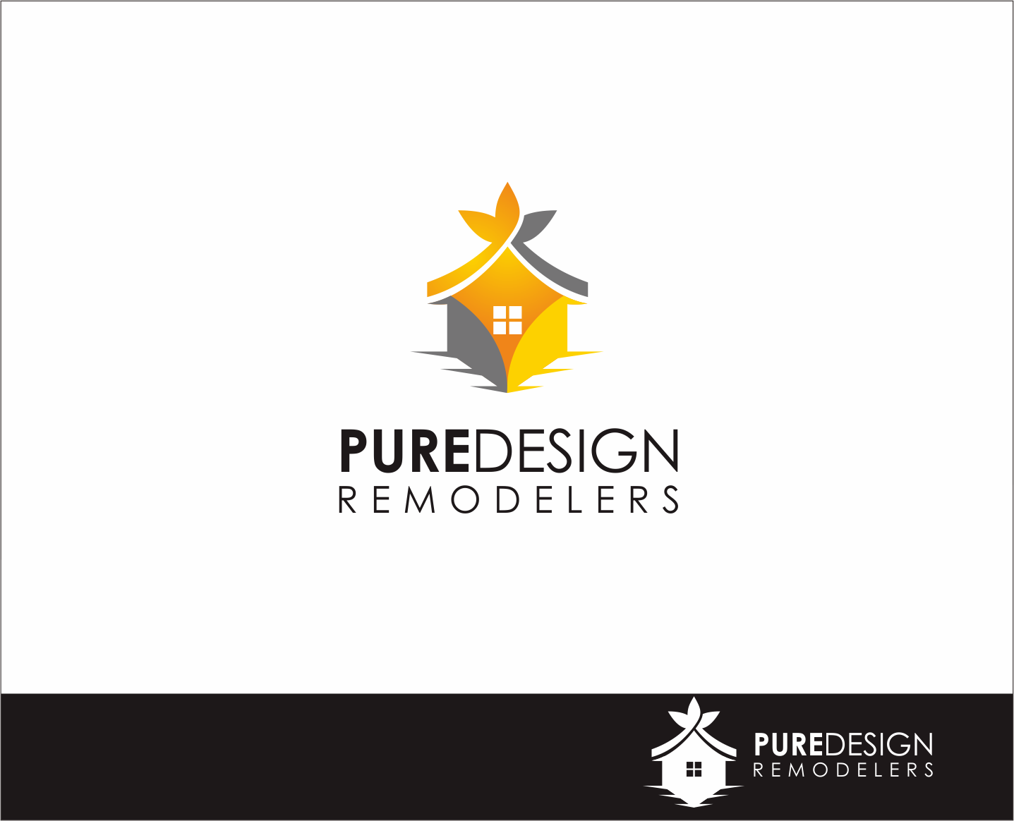 Logo Design by Armada Jamaluddin - Entry No. 117 in the Logo Design Contest Custom Logo Design for Pure Design Remodelers.